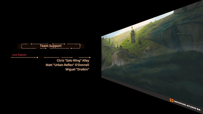 Panzer Dragoon Remake Credits 1