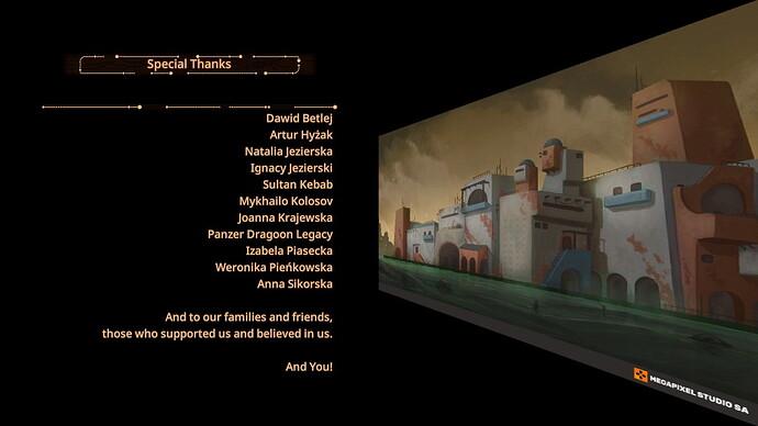 Panzer Dragoon Credits 2
